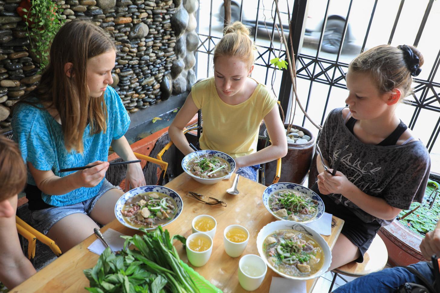 Vietnamese noodlesoep