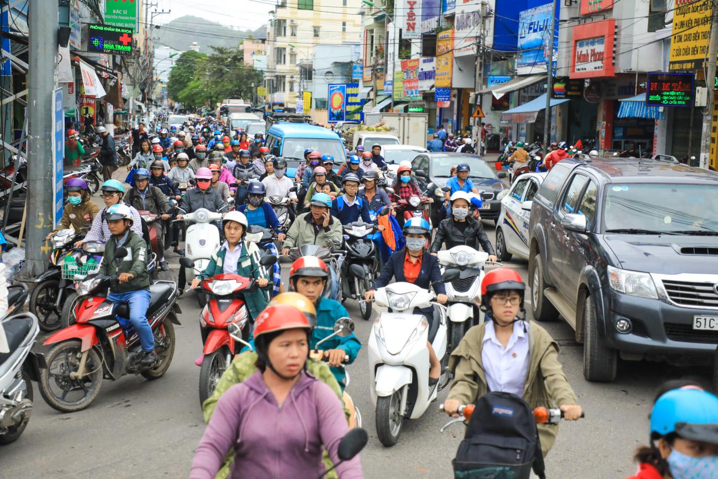 verkeersdrukte
