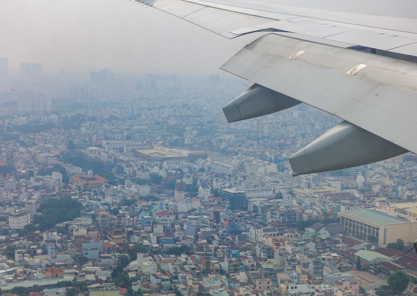 Vliegen naar Vietnam